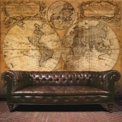 Fototapeta Galerie Steampunk G45255 Map