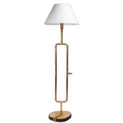 Lampa stojąca miedziana LGH0010