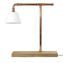 Lampa biurkowa z abażurem LGH0040