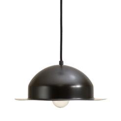 Lampa wisząca stalowa HAT czarna LGH0143
