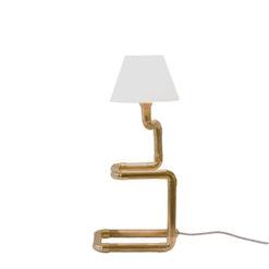 Lampa biurkowa z abażurem