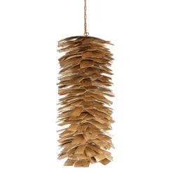 Lampa wisząca drewniana SHINGLE big LGH0246