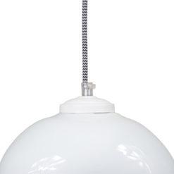 Szklana lampa wisząca