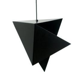 Geometryczna lampa wisząca ze stali LGH0320