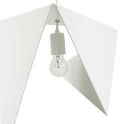 Lampa wisząca stalowa BIRD I biała LGH0321