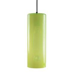 Lampa wisząca szklana żółta LGH0401