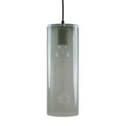 Lampa wisząca szklana NEO III szara LGH0403