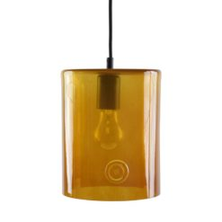 Lampa wisząca szklana NEO II miodowa LGH0410