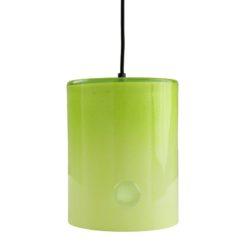 Lampa wisząca szklana NEO II zielona LGH0411