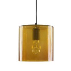 Lampa wisząca szklana NEO I miodowa LGH0420