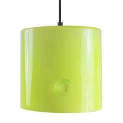 Lampa wisząca szklana NEO I żółta LGH0421