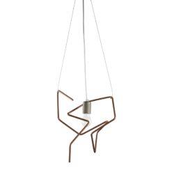 Lampa wisząca z giętych rurek LGH0430 Spider II