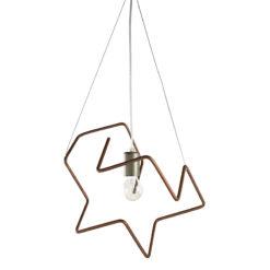 Lampa wisząca z giętych rurek LGH0431 Spider I