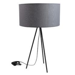 Lampa stołowa TRINITY III szara LGH0510