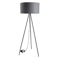 Lampa podłogowa TRINITY I szara LGH0520