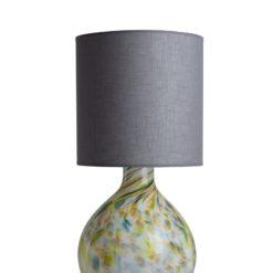 Lampa stołowa szklana z abażurem GALAXY II  LGH0584