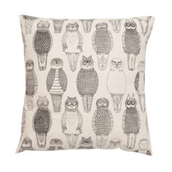 Poszewka Abigail Edwards Owls of the British Isles
