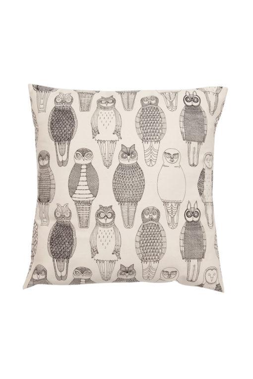 Poszewka Abigail Edwards Owls of the British Isles