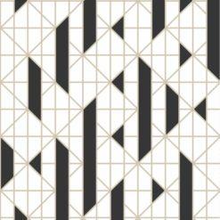 Tapeta Graham&Brown Kelly Hoppen II 103001 Linear Black/White
