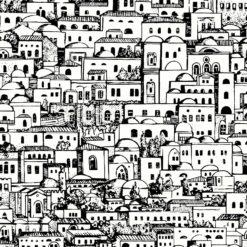 Tapeta Cole & Son  Fornasetti Senza Tempo Mediterranea 114/19039