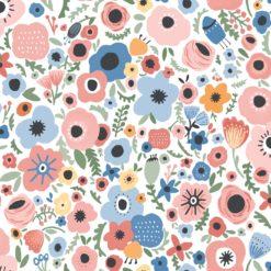Tapeta Decor Maison Babette 3701-46 Floral Folklore Red/Blue