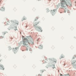 Tapeta Decor Maison Babette 3704-12 Faded Rose Pink