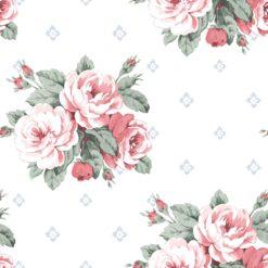 Tapeta Decor Maison Babette 3704-36 Faded Rose Red