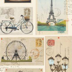 Tapeta Decor Maison Babette 3709 Postcard Beige