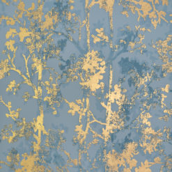 Tapeta York Wallcoverings Modern Metals NW3581 Shimmering Foliage