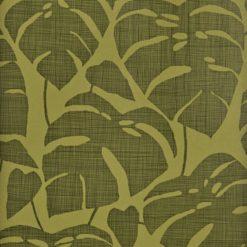 """Tapeta """"Tropikalne Liście"""" w kolorze zielonym"""