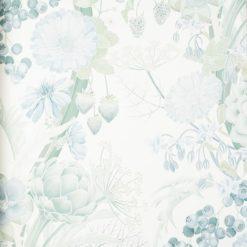 Tapeta Osobrne & Little Manarola Wallpapers W7215-03 Carlotta Aqua/Steel