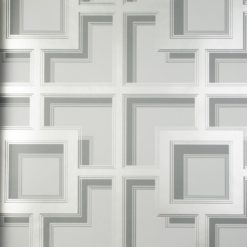 Tapeta Osobrne & Little Manarola Wallpapers W7216-02 Camporosso Cool Grey/Silver