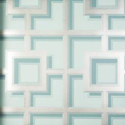 Tapeta Osobrne & Little Manarola Wallpapers W7216-04 Camporosso Seawater/Gilver