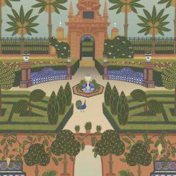 Tapeta Cole & Son Seville 117/7020 Alcazar Garden