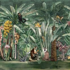 Fototapeta Wonderwall Safari 35083808 dżungla