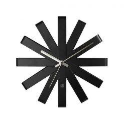 UMBRA zegar RIBBON - czarny