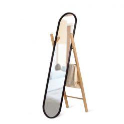 UMBRA lustro stojące z wieszakiem HUB
