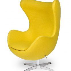 Fotel EGG CLASSIC musztardowy.21 - wełna