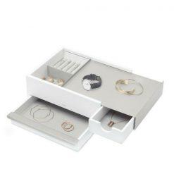 UMBRA pojemnik na biżuterię STOWIT - biały