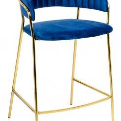 Hoker MARGO 65 ciemny niebieski - welur