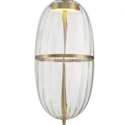 Lampa wisząca CHAPLIN 200 mosiądz - LED