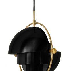 Lampa wisząca VARIA czarna - stal węglowa