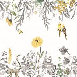 Fototapeta PaperMint Fresque Alice Les Interchangeables Ocre Jaune