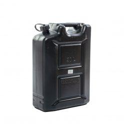 Kanister plastikowy czarny 20 litrów
