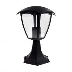 Lampa ogrodowa stojąca FOX BLACK 1xE27 Mała