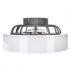 Plafoniera LED MISTRAL 45W z wentylatorem klosz mleczny