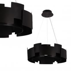 Lampa wisząca TORINO BLACK 24W LED