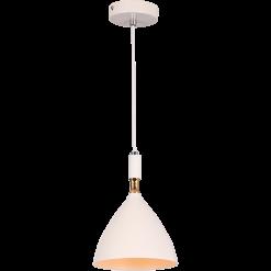 Lampa wisząca OTTO WHITE/GOLD 1xE27