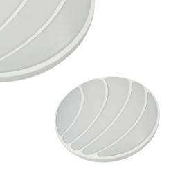 Plafon SHELL WHITE 40W LED Ø480 mm