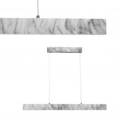 Lampa wisząca PIERCE WHITE 18W LED